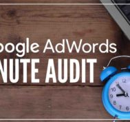 AdWords audit