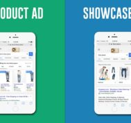 Search and Showcase Ads